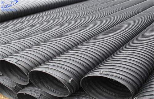 朔州市政工程PE塑鋼纏繞排水管性能特點解析