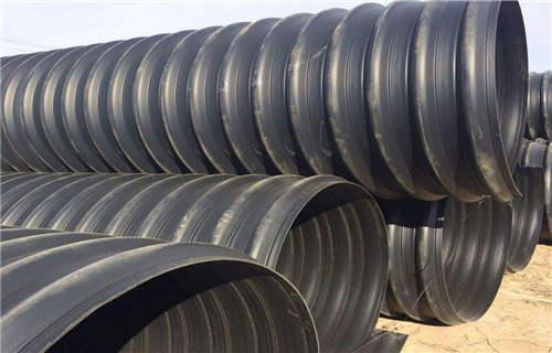 朔州管網建設PE鋼帶增強排水管安全儲存方法