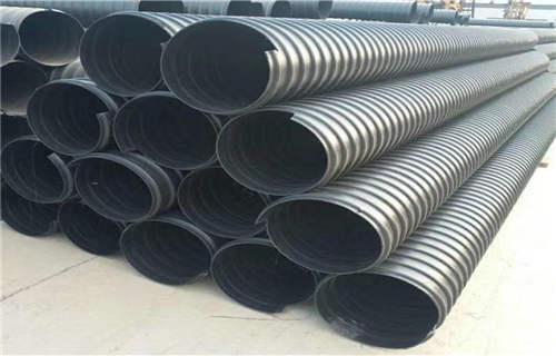 朔州DN500PE鋼帶增強波紋管口徑齊全